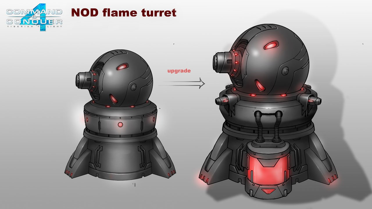 Nod Flame turret